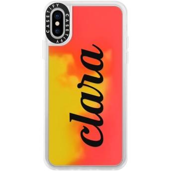 CASETiFY iPhone X ネオンサンドケース