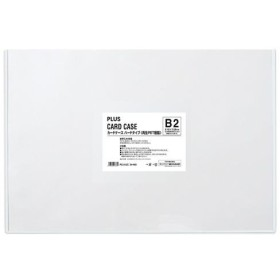 プラス  4977564173371 カードケース ハード PC−212C B2