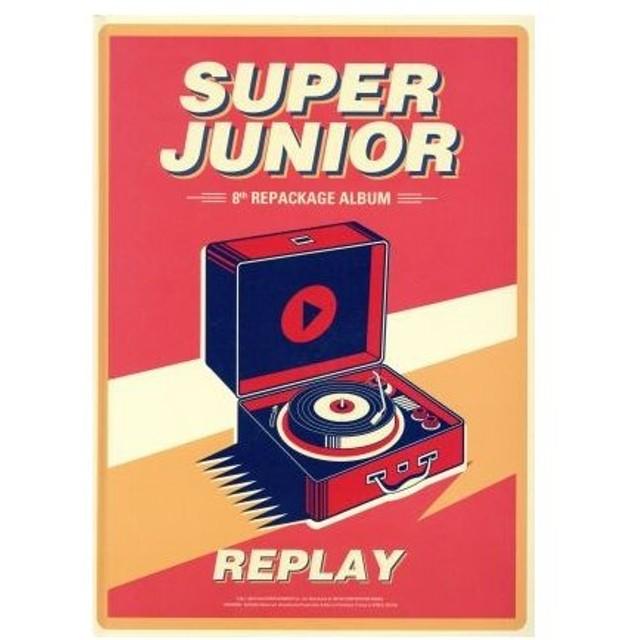 【輸入盤】Replay(Repackage)/SUPER JUNIOR