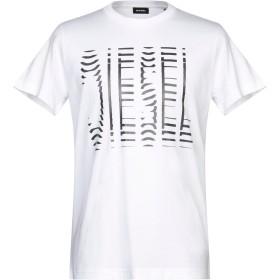 《セール開催中》DIESEL メンズ T シャツ ホワイト XL コットン 100%