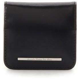 サマンサタバサプチチョイス シンプルガラスレザーシリーズ コインケース ブラック