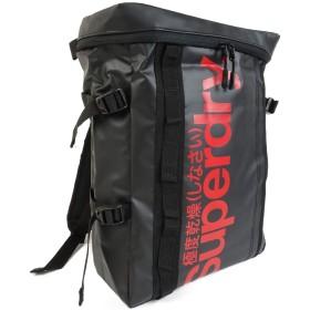 新品 極度乾燥しなさい リュック ミニ スクエア バッグ 極度乾燥 ボックスバッグ メンズ ロゴ (ブラック×レッドロゴ)sd703m [並行輸入品]
