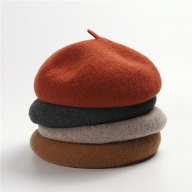 ベレー帽帽子レディース冬ぼうし防寒小物キャップ帽子可愛いフェイクファーふわふわ小顔効果秋冬新作