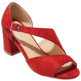 GeeRA 美ラインエレガンスヒールサンダル ブラウン M レディース 5,000円(税抜)以上購入で送料無料 サンダル 夏 レディースファッション アパレル 通販 大きいサイズ コーデ 安い おしゃれ お洒落 20代 30代 40代 50代 女性 靴 シューズ