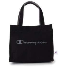 (HusHusH/ハッシュアッシュ)【Champion】ランチトートバッグ/レディース ブラック(019)