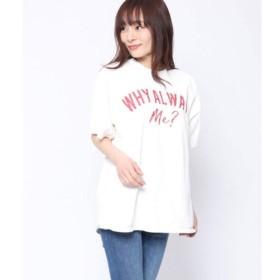 Factor= ファクターイコール ビッグロゴTシャツ