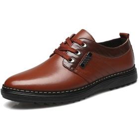 [ヘブンデイズ] Heaven Days 革靴 ビジネスシューズ ドライビングシューズ ローファー 紳士靴 外羽根 サイドステッチ メンズ 1803N0324