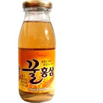 【ハントシ韓国健康飲料 】 【ウンジン】 蜂蜜紅茶(瓶)180mlx12本★1個当り¥119