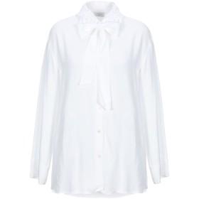《期間限定セール開催中!》SANDRO レディース シャツ ホワイト 2 レーヨン 100% / ポリエステル / コットン