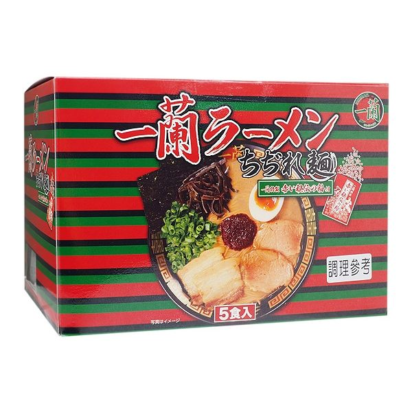 日本 一蘭拉麵 捲麵(132g x 5包)【小三美日】