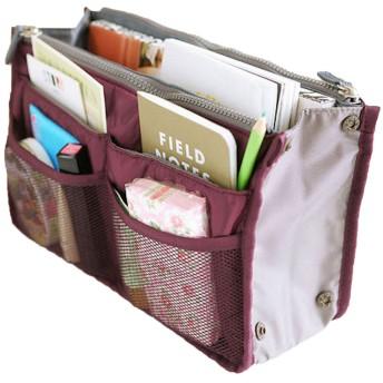 Elonglin 生活楽しい バッグインバッグ インナーバッグ 男女兼用 軽量 便利 収納力抜群 小物・化粧品・グッズ収納 14色あり