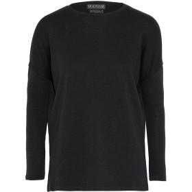 《セール開催中》BODYISM レディース スウェットシャツ ブラック M コットン 59% / レーヨン 21% / ポリエステル 20%