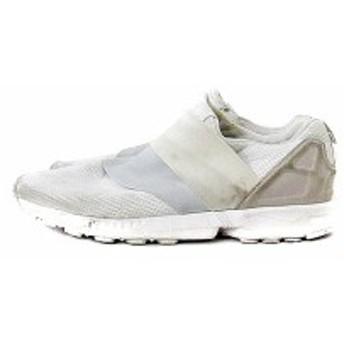 【中古】アディダス adidas SHW シューズ スニーカー スリッポン メッシュ 27.5 白 ホワイト 675001 /AKK1 メンズ