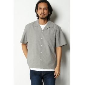 【イッカ/ikka】 SOLOTEXオープンカラーシャツ