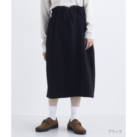 メルロー ウエストレースアップスカート レディース ブラック FREE 【merlot】