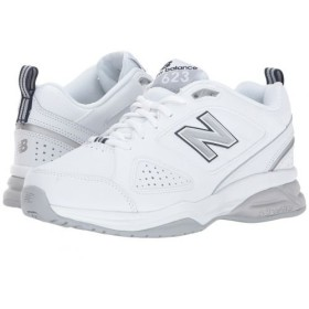 New Balance(ニューバランス) レディース 女性用 シューズ 靴 スニーカー 運動靴 WX623v3 - White/Navy 8 B - Medium [並行輸入品]