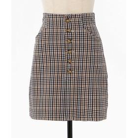 【SALE(伊勢丹)】<GHOSPELL/ゴスペル> True Axis Mini Skirt(19GH01SKG047MUL) 【三越・伊勢丹/公式】