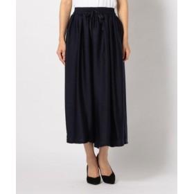 (MEW'S REFINED CLOTHES/ミューズ リファインド クローズ)サマーギャザースカーチョ/レディース ネイビー 送料無料