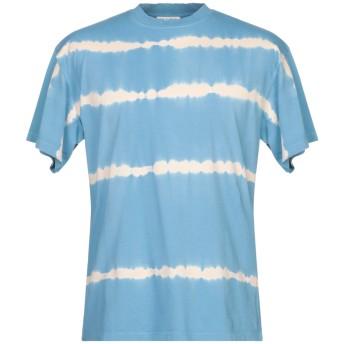 《9/20まで! 限定セール開催中》SANDRO メンズ T シャツ アジュールブルー XS コットン 100%