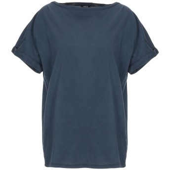 《期間限定セール開催中!》ASPESI レディース T シャツ ダークブルー XS コットン 100%