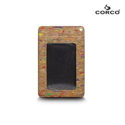CORCO 直式軟木證件套 - 繽紛彩 (含掛繩)