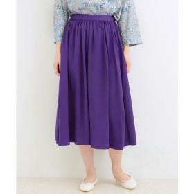 [マルイ]【セール】ツイルギャザースカート(ツイル ギャザースカート)/マリンフランセーズ(LA MARINE FRANCAISE)