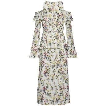 《セール開催中》MOTHER OF PEARL レディース ミニワンピース&ドレス ホワイト 8 シルク 100%