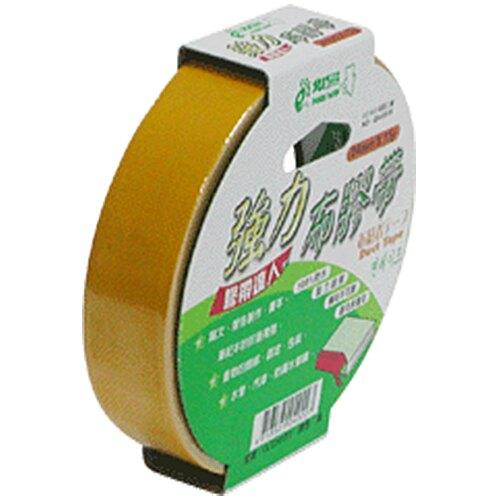 【史代新文具】北極熊 強力布膠帶/布紋膠帶/布質膠帶 CLT2415Y (黃色) 24mm15y