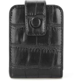 [リグラル] リップケース 口紅ケース リップスティックケース コンパクト ミラー付き ブラック