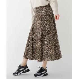 DRESSTERIOR(Ladies)(ドレステリア(レディース)) レオパードプリントスカート