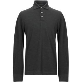 《期間限定セール開催中!》CIRCOLO 1901 メンズ ポロシャツ ダークグリーン L ウール 53% / コットン 47%