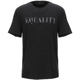 《期間限定 セール開催中》JOHN VARVATOS ★ U.S.A. メンズ T シャツ ブラック S コットン 100%