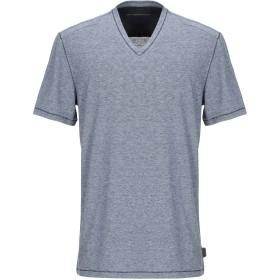 《セール開催中》JOHN VARVATOS ★ U.S.A. メンズ T シャツ ブルーグレー XS ポリエステル 70% / コットン 15% / 麻 15%
