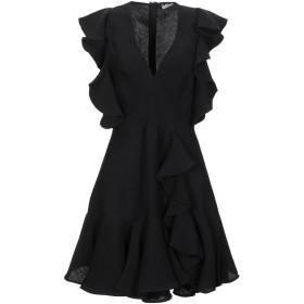 《セール開催中》SANDRO レディース ミニワンピース&ドレス ブラック 38 レーヨン 85% / ナイロン 15%