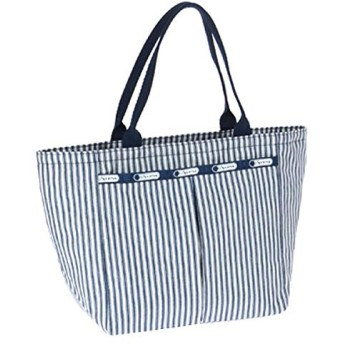 LeSportsac(レスポートサック) トートバッグ 手提げバッグ SMALL EVERYGIRL TOTE ポーチ付 7470 D347 NAUTICAL STRIPE [並行輸入品]