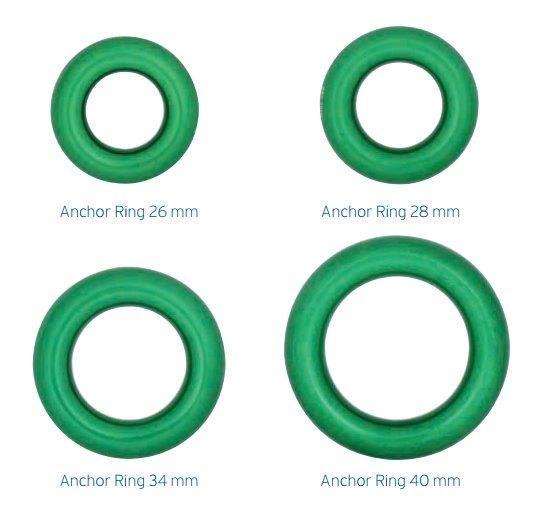 ├登山樂┤英國 DMM Anchor Ring 固定式連接環 # R500