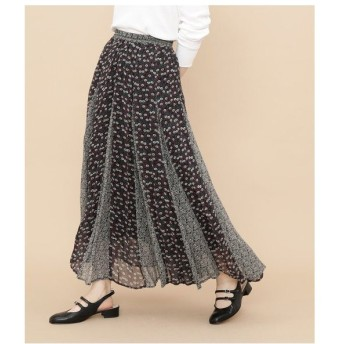 ADAM ET ROPE' / アダム エ ロペ 【ne Quittez pas】RAYON GGT FLOWER MIX SKIRT