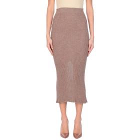 《セール開催中》ACNE STUDIOS レディース 7分丈スカート キャメル M 毛(アルパカ) 90% / ウール 10%