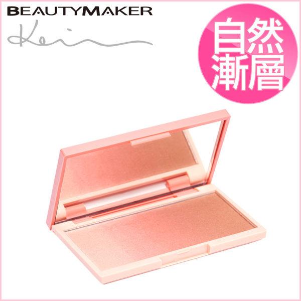 BeautyMaker 絕美綻色漸層頰彩盤-落日甜橙 (打亮x修容x腮紅) ◆86小舖 ◆