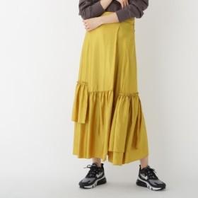 [マルイ] ドレープサテンティアードスカート/ドレステリア(レディス)(DRESSTERIOR Ladies)