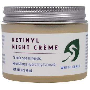 レチノール・ナイトクリーム、2 液体 オンス(59 ml)