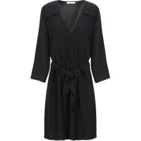 《セール開催中》SESSUN レディース ミニワンピース&ドレス ブラック XS ポリエステル 100%