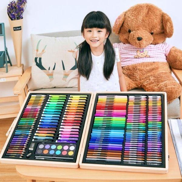 畫筒 【非主圖款】兒童繪畫套裝畫畫工具水彩筆畫筆 莎拉嘿幼