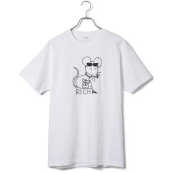 ジュンセレクト/【Ken Kagami × JUNRed】コラボT-Shirt/ホワイト系/M
