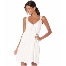 ミスミー レディース ワンピース トップス Tie Front Sleeveless Dress Off-White