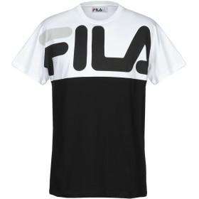 《期間限定 セール開催中》FILA メンズ T シャツ ホワイト 52 コットン 100%