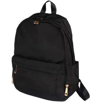 リュックサック レディース 背面ポケット付き サイドポケット充実 ママリュック ママバッグ ナイロン 通勤通学 A4 大容量 軽量 男女兼用バッグ