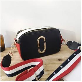 RBBB 新金の韓国版少女の小さいバッグは色をぶつけて色の単肩の斜めのショルダーバッグの簡単な約百組のミニの小さい方の包み,黒
