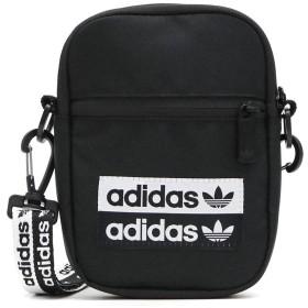 [アディダス オリジナルス]adidas Originals VOCAL FEST BAG ショルダーポーチ GHQ49 ブラックxホワイト/EJ0975