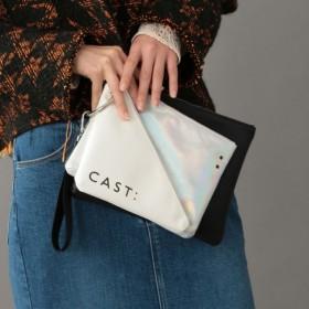 【キャスト(CAST:)】 3連ポーチ(EC・直営店限定) ブラック